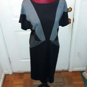 Lane Bryant 2 tone dress